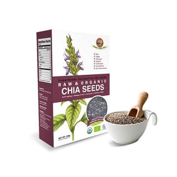 Picture of Earth Harvest Organic Chia Seeds (Chia Seeds) 250g