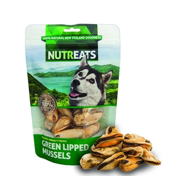 Picture of Nutreats New Zealand Freeze-dried Green Lipped Mussels for Pets 50g