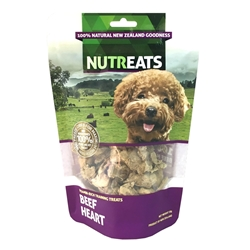 Nutreats New Zealand Freeze-dried Beef Heart for Pets 50g