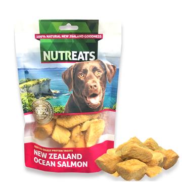 图片 Nutreats 纽西兰冻干三文鱼肉(犬用) 50克