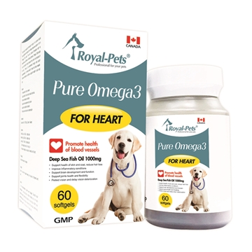Picture of Royal-Pets Omega 3 60 softgels