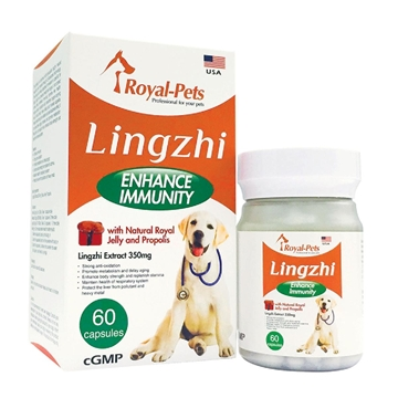 Picture of Royal-Pets Lingzhi 60 capsules