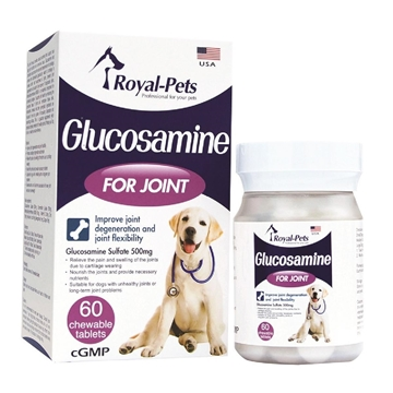 Picture of Royal-Pets Glucosamine 500mg 60 chewable tablets