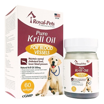 Picture of Royal-Pets Pure Krill Oil 60 softgels