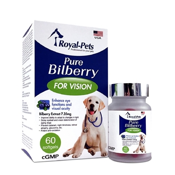Picture of Royal-Pets Pure Bilberry 60 softgels