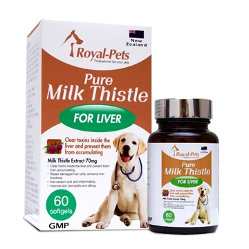 Picture of Royal-Pets Pure Milk Thistle 60 softgels