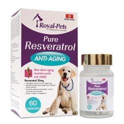 Royal-Pets 純正白藜蘆醇 60粒膠囊