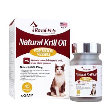 圖片 Royal-Pets 天然磷蝦油丸 45粒軟膠囊