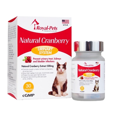 Picture of Royal-Pets Natural Cranberry 30 capsules