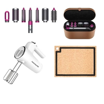 Picture of Dyson Special Lucky Bag (Dyson Airwrap™ styler Complete +Frigidaire 6 speed Hand Mixer+epicurean CUTTING BOARD)