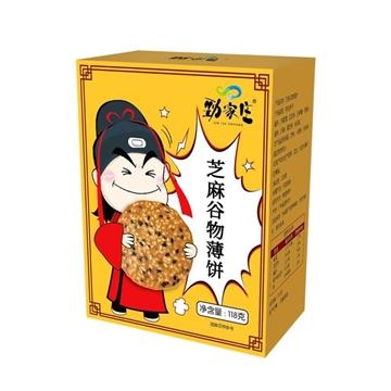 圖片 勁家莊 芝麻谷物薄餅 1盒