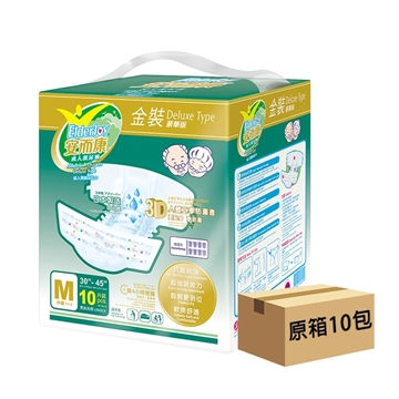 Picture of ElderJoy Adult Soft Diapers Deluxe Type Medium Size (10 packs x 10 pcs)