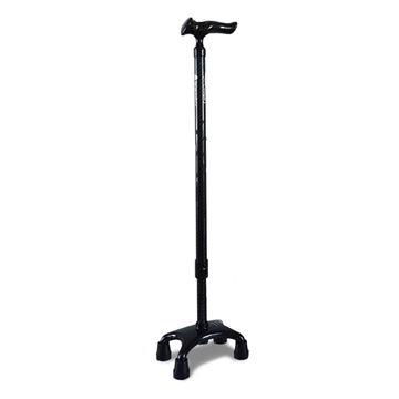 Picture of Agegracefully Ergonomic carbon fiber four-legged crutches (ergonomic handle)