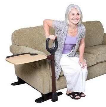 Picture of Stander seat support armrest frame (with rotating tray)