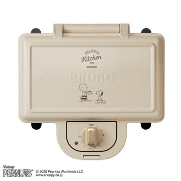 图片 Snoopy X BRUNO 双片三文治机 BOE051-ECRU