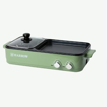 Picture of Harrow 2-in-1 Grill Pan & Hot Pot HT-GH1200