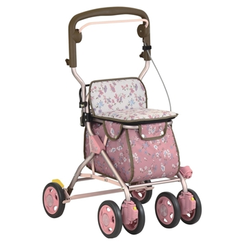 Picture of TacaoF Walking Cart (Pink Floral)