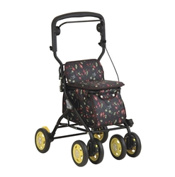 TacaoF Walking Cart (Black Floral)