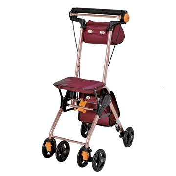 Picture of TacaoF Light Walking Cart (Jujube Red)