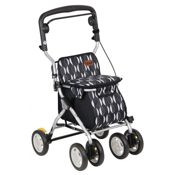 Picture of TacaoF Nordic Walking Cart Black