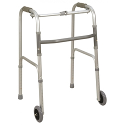 Silver Solutions Foldable Walking Frames With Wheels