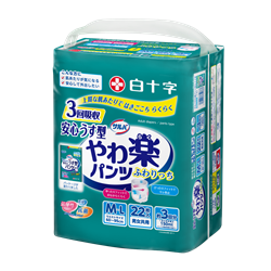日本喜舒乐 成人纸尿裤 轻巧型 中码 (22片/包)