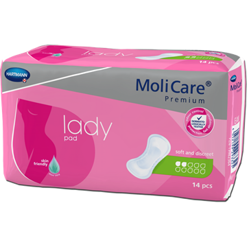 Picture of MoliCare Worry-Free Mattress 2 Drops For Women Light (14 pcs/pack)