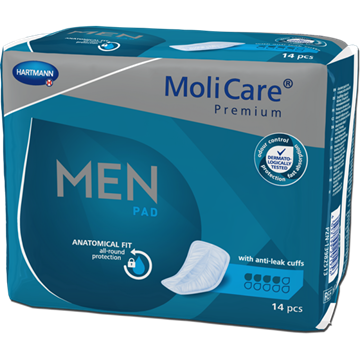 Picture of MoliCare Worry-Free Gold Pack 4 Drops For Men Enhanced (14 pcs/pack)