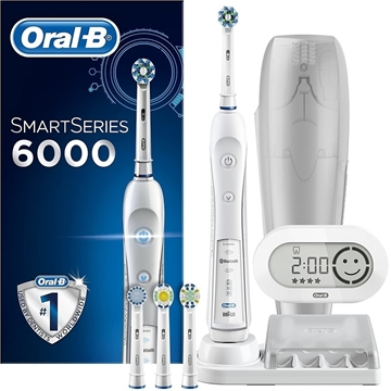Picture of Oral-B SmartSeries 6000 CrossAction Electric Toothbrush