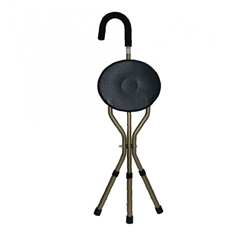 Silver Solutions Walking Stick and Chair