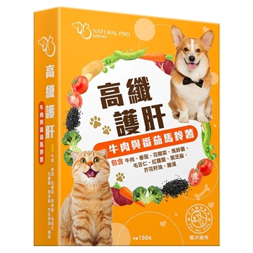 Picture of NATURAL PRO Pet Fresh Meal (Tomato and Potato with Beef) 150g