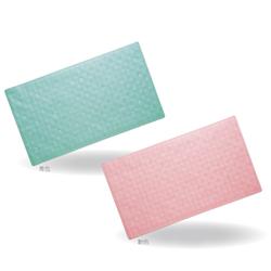 TacaoF Bathroom Bathtub Mat (Green/Pink)