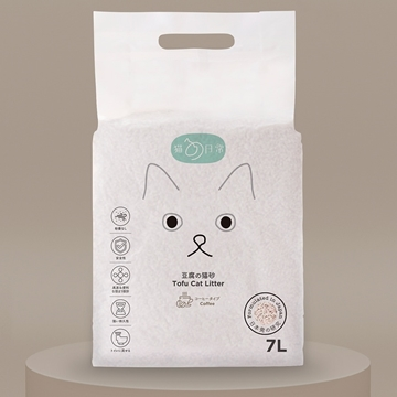 Picture of CAT DAILY Tofu Cat Litter (Coffee) 7L