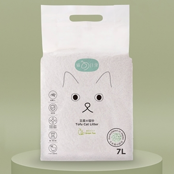 Picture of CAT DAILY Tofu Cat Litter (Green Tea) 7L