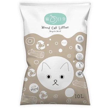 Picture of CAT DAILY Env. Wood Cat Litter 10L (Buy1 Get 1 Free)
