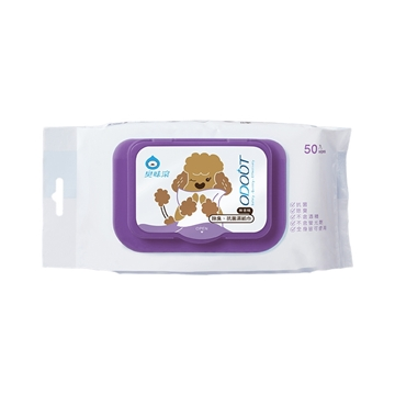Picture of ODOUT Anti-bacterial Wet Wipes for Dog 50 Sheets