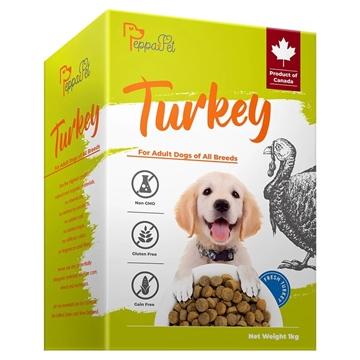图片 PEPPAPET 无谷物全犬种配方 鲜火鸡肉 1公斤