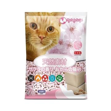 Picture of MY BABY PET LIFE Okara Cat Litter Sakura 7L