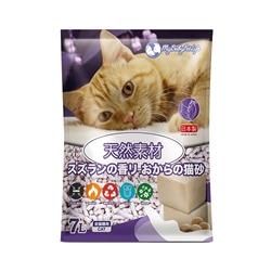 MY BABY PET LIFE Okara Cat Litter Valley Lily 7L