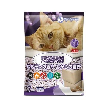 圖片 MY BABY PET LIFE 日本製鈴蘭香味豆腐貓砂 7L
