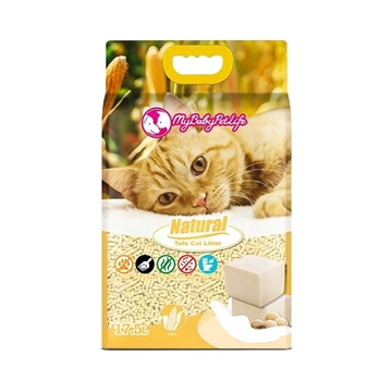 图片 MY BABY PET LIFE 天然豆腐猫砂 玉米香味