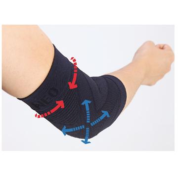 图片 韩国运动织带式护具- 手肘