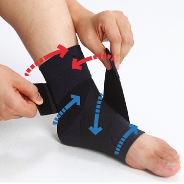 Picture of Neo Medical Support Plus Sport Taping Pad - Ankle