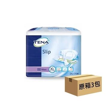 圖片 Tena 添寧 透氣棉柔成人紙尿片夜用型 加大碼 (原箱 3包 x 24片)
