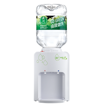 Picture of Watsons Water Wats-MiniS Hot & Chilled Dispenser (White) + 8L bottled water x 8 bottles (e-Water Coupon)​