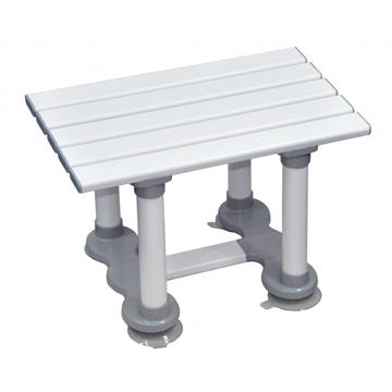 "Picture of Aidapt Medina Plastic Bath Seat (6""/8""/12"")"