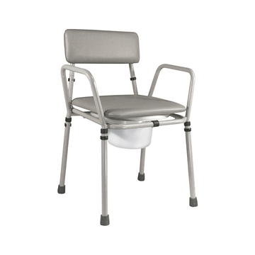Picture of Aidapt Essex Height Adjustable Stacking Commode (Steel)