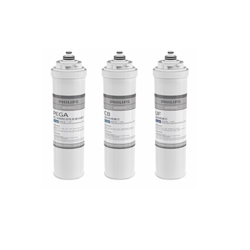 Picture of Philips WP4161 UTS Water Purifier Filter Cartridge Bundle (WP3975-PEGA + WP3977-CB + WP3985-UF)
