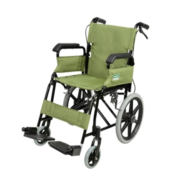 Picture of Aidapt Foldable Attendant Propelled Transport Wheelchair (Flip-up Armrests)