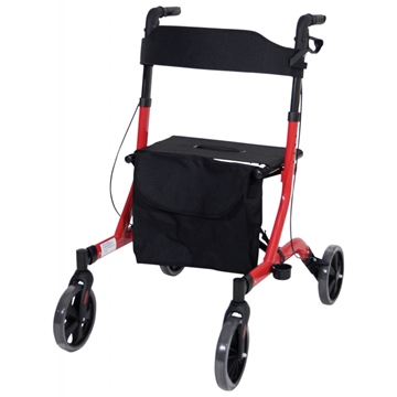 Picture of Aidapt Deluxe Ultra Lightweight Folding 4 Wheeled Rollator
